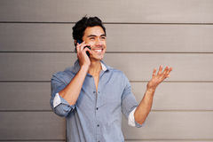 Handsome, young latino businessman Royalty Free Stock Photos