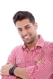 Handsome young male Stock Images