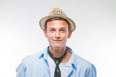 Handsome young male teenager Royalty Free Stock Images
