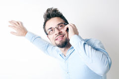Handsome young man Stock Images