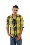 Handsome young man with attitude Royalty Free Stock Images