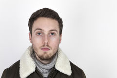 Handsome young man with beard Royalty Free Stock Image