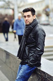 Handsome young man in casual clothes Royalty Free Stock Photography