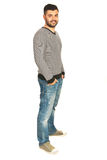 Handsome young man in casual clothes Stock Photo