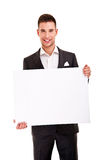 Handsome young man in classic suit Royalty Free Stock Image