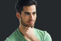 Handsome young man Stock Image