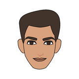 Handsome young man icon image Royalty Free Stock Image