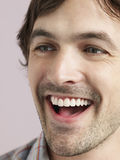 Handsome Young Man Laughing Stock Photography