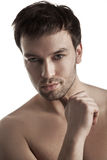 Handsome young man portrait Stock Photography