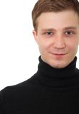 Handsome young man portrait Royalty Free Stock Photos
