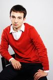 Handsome young man portrait Royalty Free Stock Images