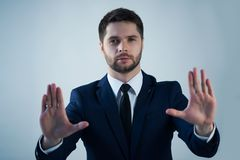 Handsome young man Royalty Free Stock Image