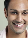 Handsome Young Man Smiling Stock Photography