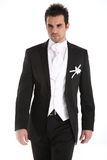 Handsome young man in tuxedo royalty free stock images