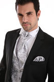 Handsome young man in tuxedo Stock Image