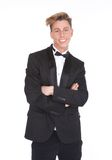 Handsome young man in tuxedo Stock Photo