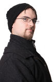 Handsome young man in winter wear Royalty Free Stock Photography