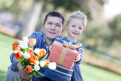 Happy mother's day! Stock Photography