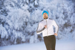 Handsome young runner Stock Image
