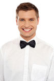 Handsome young smiling well dressed guy Royalty Free Stock Photography