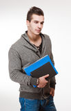 Handsome young student. Stock Photography