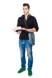 Handsome young student. Royalty Free Stock Images