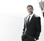 Handsome young success royalty free stock photos