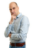 Handsome young thoughtful man Royalty Free Stock Photography