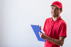 Handsome young worker Royalty Free Stock Photo