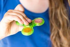 Handspinner Lizenzfreies Stockfoto