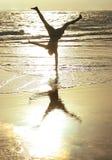 handstand ενός Στοκ Εικόνες