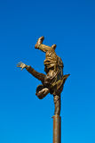 Handstand - кормка Даниеля Стоковые Фото