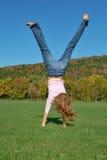 handstand Стоковое фото RF