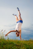 handstand Στοκ Εικόνες