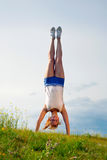 Handstand Stock Photography