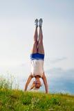 handstand Στοκ Φωτογραφία