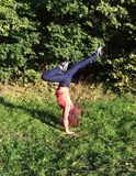 handstand Obraz Royalty Free