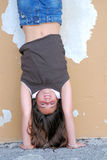 Handstand Royalty Free Stock Image