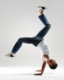 Handstand dance Royalty Free Stock Images