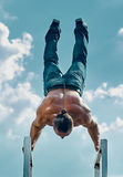 Handstand Stock Images