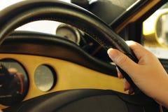 handstyrningshjul Arkivfoto