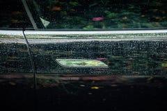Handtag för dörr för Tesla modell S Royaltyfri Foto