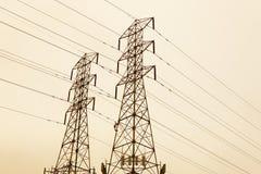 Handtag för elektrisk tråd Royaltyfria Foton