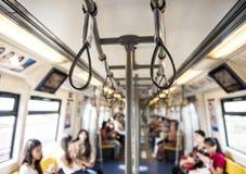 Handtag för stå passagerare Royaltyfri Foto