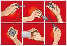 Handtagobjekt Fotografering för Bildbyråer