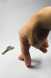 handtangent arkivfoto