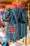 Handtas met traditionele versiering Stock Foto