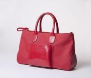 Handtasche auf Weiß Lizenzfreies Stockfoto