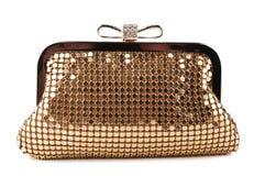 Handtasche der Glamor Frau lizenzfreie stockfotos