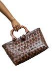 Handtasche handgemacht Stockbilder